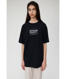 moussy/NEWS PAPER AD Tシャツ/502501476