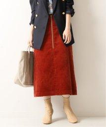 Spick & Span/フトコールフロントZIPスカート◆/502502466