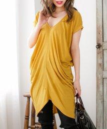 Julia Boutique/ゆるドレープチュニック・Tシャツ・カットソー・トップス/510313/502502841