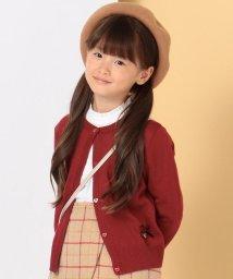 KUMIKYOKU KIDS/【110~140cm】ハート柄クラシック カーディガン/502503163