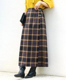IENA/【O'neil of Dublin/オニールオブダブリン】CHECK マキシキルトスカート◆/502503469