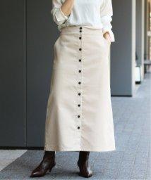 IENA/《予約》前ボタンコールスカート◆/502503690