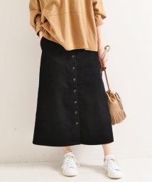 IENA/前ボタンコールスカート◆/502503690