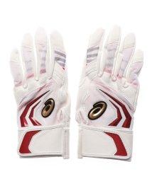 ASICS/アシックス asics 野球 バッティング用手袋 ジュニア用プロモデルバッティング手袋(両手) 3124A098/502503733