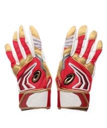 ASICS/アシックス asics 野球 バッティング用手袋 ジュニア用プロモデルバッティング手袋(両手) 3124A098/502503736