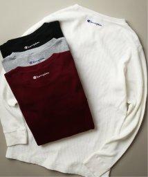 JOURNAL STANDARD relume Men's/《予約》Champion×relume / 別注チャンピオン WAFFLE L/S Tシャツ/502503961