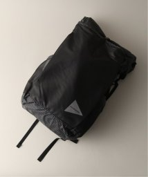 JOURNAL STANDARD relume Men's/AND WANDER / アンドワンダー grid cloth backpack バックパック/502503973