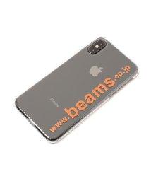 bPr BEAMS/BEAMS / ロゴ iPhoneXS・X ケース/502454365