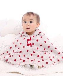 e-baby/ドットジャガード+ボアフリルマント/502487852