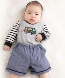 e-baby/天竺クルマプリントボディミニ/502487867