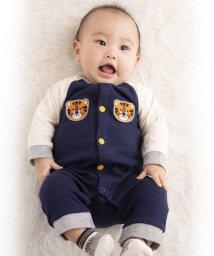 e-baby/接結天竺トラワッペンカバーオール/502487868