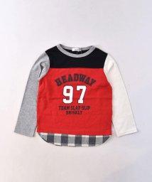 SLAP SLIP/天竺配色切り替えナンバーTシャツ/502487915