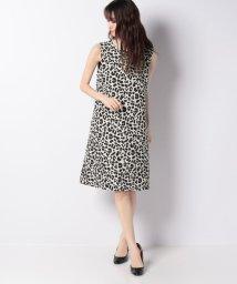 MISS J/アニマルジャカード ドレス/502493387