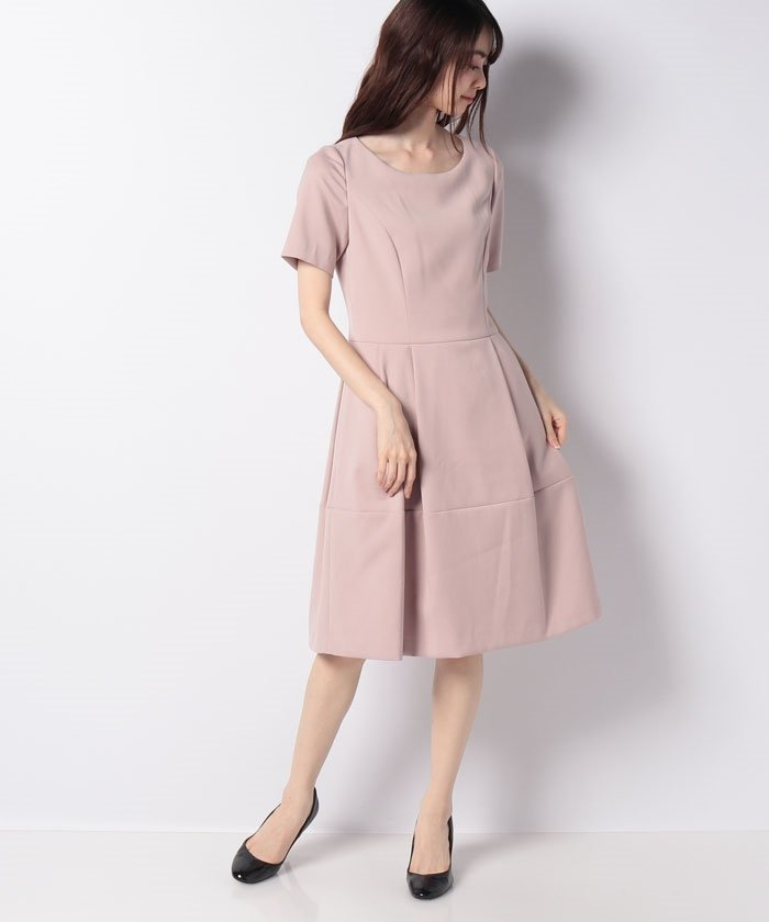 ダブルクロス パニエ付きドレス