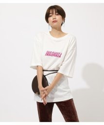 AZUL by moussy/SIDE SLIT INSOMNIA TEE/502504319