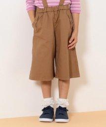 anyFAM(KIDS)/【110-130cm】2WAY リボンポケット ガウチョ サロペット/502504923