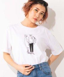 WEGO/WEGO/モノトーンバラエティプリントTシャツ/502471025