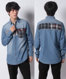 Desigual/MAN DENIM SHIRT LONG SLEEVE/502492554
