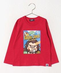 XLARGE KIDS/パッケージ風ファニーゴリラTシャツ/502492623