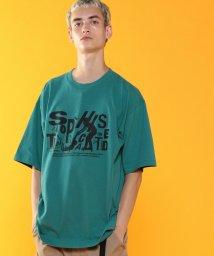 coen/ビッグシルエットプリントTシャツ(UTILITY LINE)/502495051