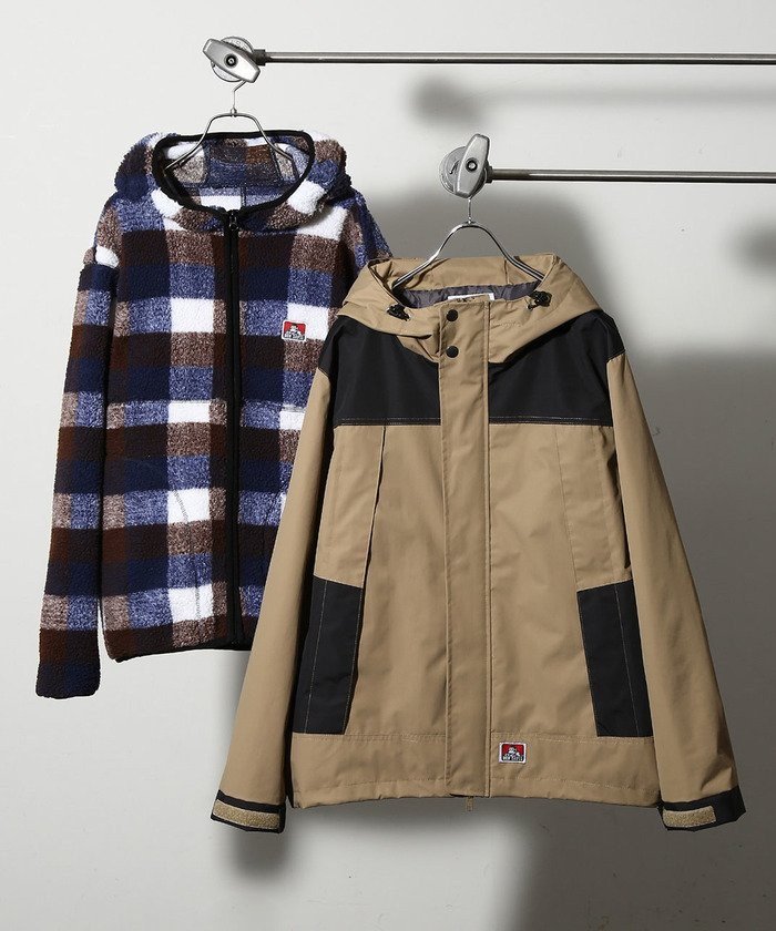 BENDAVIS/ベンデイビス 別注3WAY MOUNTAIN PARKA