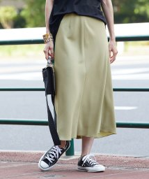 ROPE' mademoiselle/ビンテージソフトマーメイドスカート/502507059