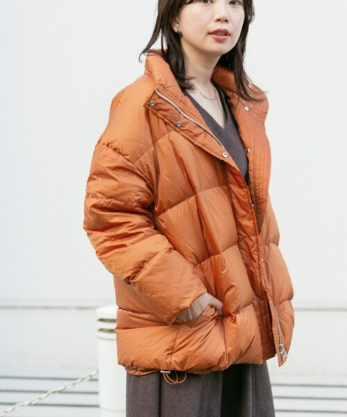 KBF(ケービーエフ)/【予約】KBF+ グリーンダウンベルトジャケット/KP97-27N120