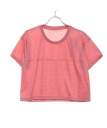 DANSKIN/ダンスキン DANSKIN レディース フィットネス 半袖Tシャツ CROP TEE DC79303/502507924