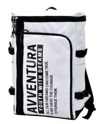 RUNNER/アヴェンチュラ AVVENTURA L字ポケット ボックスリュック トリコロール ポリナイロン レディース メンズ キッズ ユニセックス /502505015