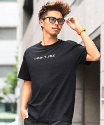 LUXSTYLE/サーフイラストバックプリント半袖Tシャツ/Tシャツ メンズ 半袖 プリント イラスト/502509035