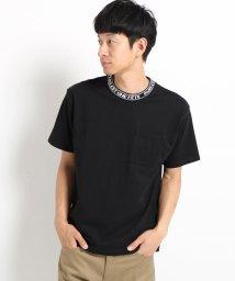 THE SHOP TK/【WEB限定】ネックロゴTシャツ/502509263