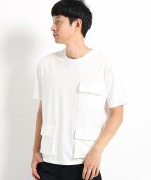 THE SHOP TK/【WEB限定】マルチポケットTシャツ/502509264