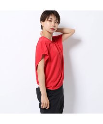 DANSKIN/ダンスキン DANSKIN レディース フィットネス 半袖Tシャツ WIDE TEE DC79302/502510850