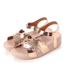 FITFLOP/フィットフロップ fitflop ESTHER FLORET BACK-STRAP SANDALS (Rose Gold)/502510889