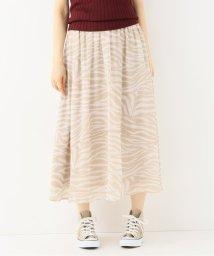 Spick & Span/アニマルプリントスカート◆/502510921