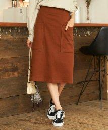 titivate/ビッグポケットAラインスカート/502463899