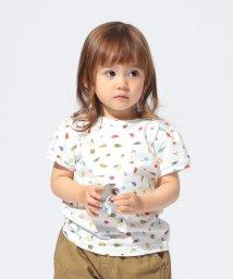 こどもビームス/こども ビームス /フルーツプリント パフ スリーブ Tシャツ 19(80~90cm)/502470067