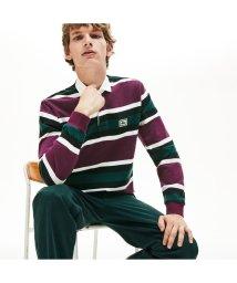 LACOSTE Mens/ボーダーラグビーシャツ/502511160