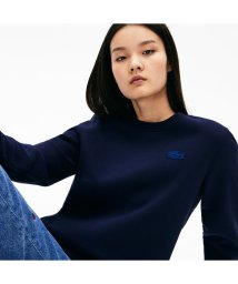 LACOSTELIVE LADYS/『LACOSTE L!VE』バックオープンクルーネックスウェット/502511169