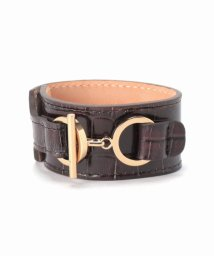 journal standard  L'essage /MAISON BOINET Embossed leather Bangle S/502511547