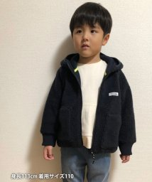 coen/【coen キッズ / ジュニア】ボアジップパーカー/502511937