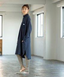 coen/SMITH別注 裏毛ハイネックジップワンピース/502513297