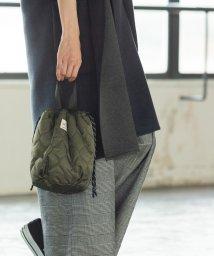coen/【先行販売・4way】キルト×ボア巾着トートバッグ(リバーシブル/トートバッグ)/502513300