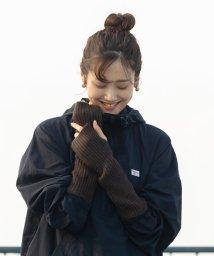 coen/ヤクリブ編みアームウォーマー(グローブ/手袋)/502513303