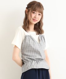 MAJESTIC LEGON OUTLET/カシュクールドッキングトップス/502513327