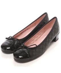 PRETTY BALLERINAS/プリティ バレリーナ PrettyBallerinas LINDSAY patent-leatherquilt(リンゼイ パテント x レザーキルト) ヒール付/502513674
