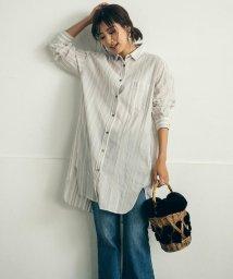 MAYSON GREY/リネン混チュニックシャツ/502494698