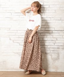 INGNI/花柄ギャザースカート/502503396