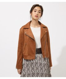 AZUL by moussy/ECO LEATHER RIDER'S JACKET/502514529