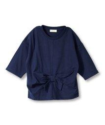 branshes/ウエストリボン7分袖Tシャツ(80~150cm)/502515198